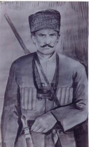 Kağızman'ın kurtuluşunda öne çıkan kahramanlardan Avcı Mahmud.